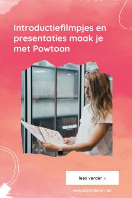 Introductiefilmpjes en presentaties maak je met Powtoon