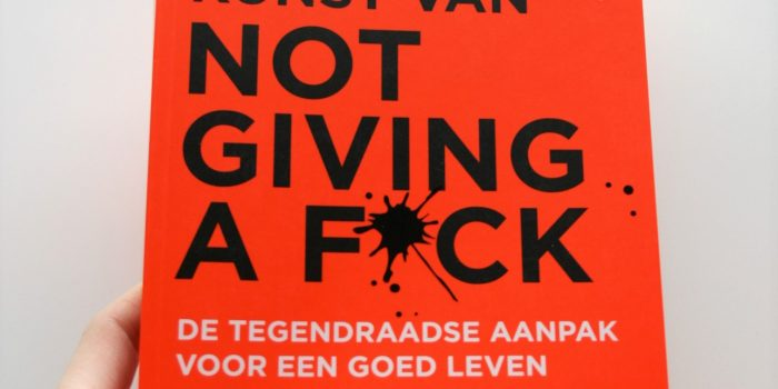 de edele kunst of not giving a fuck