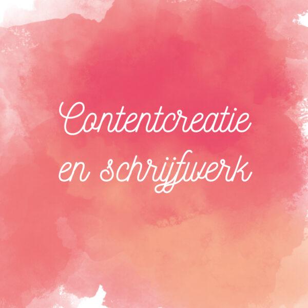 Contentcreatie en schrijfwerk Blijven Leren