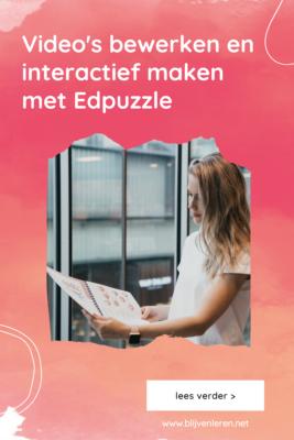 Edpuzzle Blijven Leren