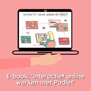 E-book interactief online werken met padlet