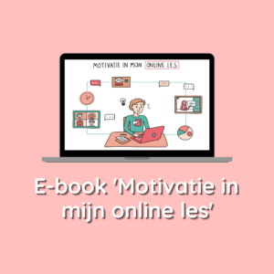 Ebook Motivatie in mijn online les