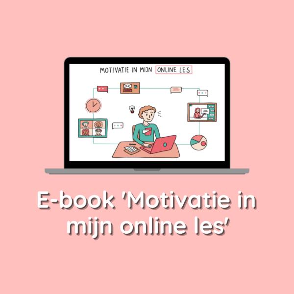 Ebook Motivatie in mijn online les