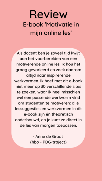 Review-Motivatie-in-mijn-online-les
